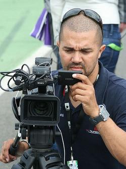 Jean-Eric Vergne's cameraman