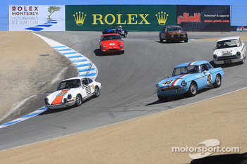 Group 5B pace lap