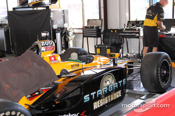 Car of Simona De Silvestro, HVM Racing