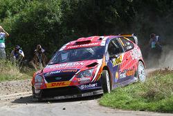 François Duval and Denis Giraudet, Ford Focus RS WRC 08, Stobart VK M-Sport Ford Rally Team