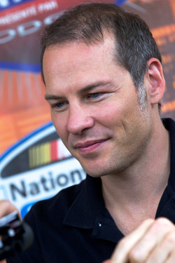 NASCAR Nationwide Series driver Jacques Villeneuve