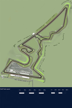 Formula 1 United States Grand Prix  race track revealed