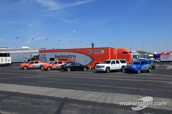 Indycar safety vehicles