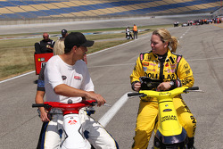 Graham Rahal, Sarah Fisher Racing and Sarah Fisher, Sarah Fisher Racing
