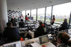 Qualifying press conference: pole winner Dean Stoneman, second place Nicola di Marco, third place Kazim Vasiliauskas
