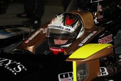Pole sitter Ed Carpenter, Panther Racing/Vision