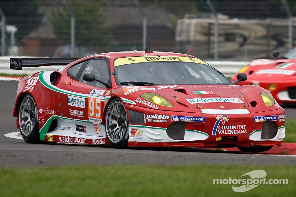 #95 AF Corse Ferrari F430 GT: Giancarlo Fisichella, Toni Vilander, Jean Alesi