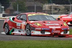 #95 AF Corse Ferrari F430 GT: Giancarlo Fisichella, Toni Vilander, Jean Alesi