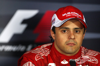 Post-race press conference: third place Felipe Massa, Scuderia Ferrari