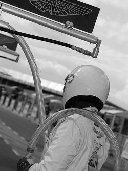 Aston Martin mechanic