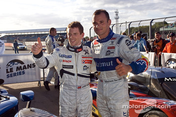 Anthony Davidson and Stephan Sarazin