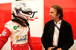 Pedro Nunes and Emerson Fittipaldi