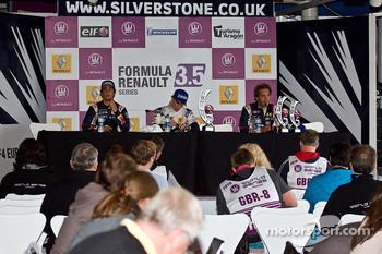 Press conference in the Media Centre: Daniel Ricciardo, Esteban Guerrieri and Jean-Eric Vergne