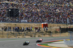 Marco Simoncelli, San Carlo Honda Gresini and Valentino Rossi, Fiat Yamaha Team