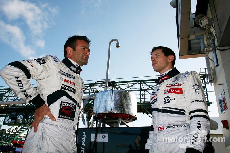 Nicolas Minassian and Anthony Davidson