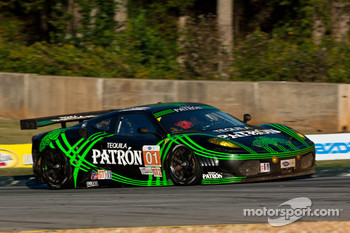 #01 Extreme Speed Motorsports Ferrari 430 GT: Scott Sharp, Johannes van Overbeek, Dominik Farnbacher