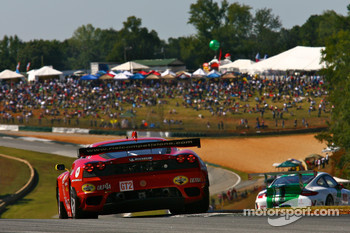 #61 Risi Competizione Ferrari F430 GT: Giancarlo Fisichella, Jaime Melo, Mika Salo