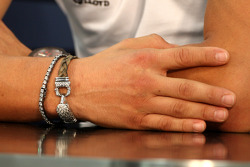 The bracelet of Michael Schumacher, Mercedes GP