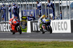 Valentino Rossi, Fiat Yamaha Team and Nicky Hayden, Ducati Marlboro Team