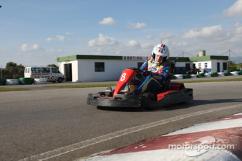 Rally Catalunya karting race: Mikko Hirvonen