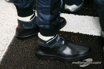 Sebastian Vettel, Red Bull Racing boots