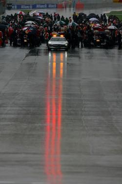 The start grid of last year's Korean Grand Prix