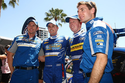Mark Winterbottom and Luke Youlden qualifying on pole for race two with Steve Richards and Will Power in second for Ford Performance Racing