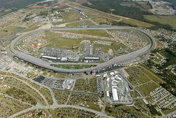 Aerial view of Talladega Superspeedway
