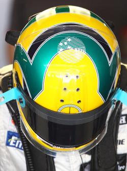 Bruno Senna, Hispania Racing F1 Team helmet