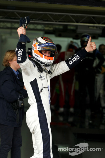 Pole winner Nico Hulkenberg, Williams F1 Team
