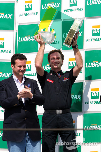 Podium: Christian Horner, Red Bull Racing, Sporting Director