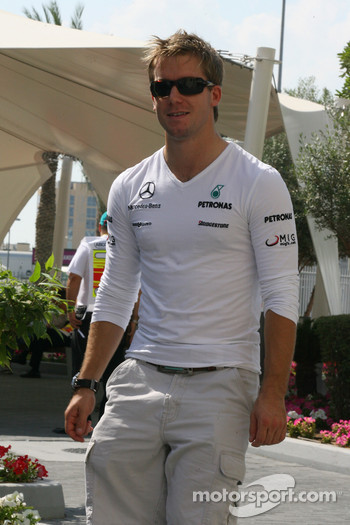 Sam Bird, GP2 driver who is soon to test for Mercedes