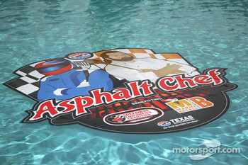 Asphalt Chef event: swimming pool decorations
