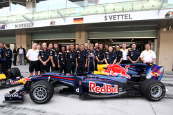 Sebastian Vettel, Red Bull Racing and his team