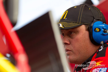 Kevin Manion, crew chief for Jamie McMurray, Earnhardt Ganassi Racing Chevrolet