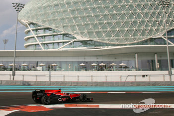 Jerome d'Ambrosio at last year's young driver test at Abu Dhabi