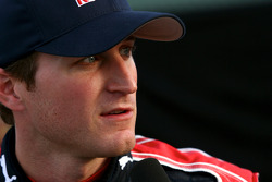 Kasey Kahne, Red Bull Racing Team Toyota after setting the fastest time