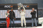 Podium: Race of Champions winner Filipe Albuquerque, second place Sbastien Loeb