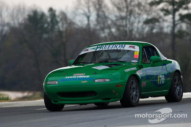 #78 Team Evolution Motorsports 2004 Pontia GTO black: Donald Clifford, Russ Dalba
