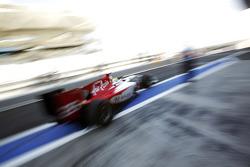Podium: second place Romain Grosjean