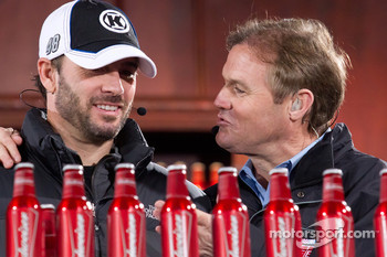 Jimmie Johnson, Hendrick Motorsports Chevrolet and Kenny Wallace
