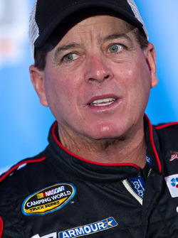 NASCAR Camping World Truck Series driver Ron Hornaday