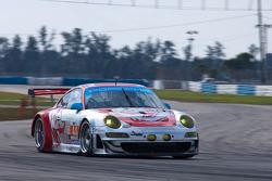 #44 Flying Lizard Motorsports Porsche 997 GT3 RSR: Seth Neiman, Darren Law