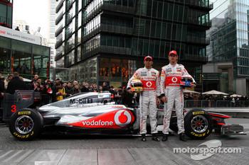 The McLaren Mercedes team