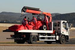 Felipe Massa, Scuderia Ferrari blows up his engine
