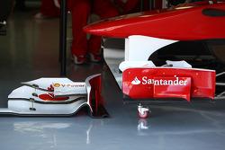 Scuderia Ferrari, F150, front wing detail