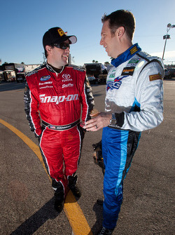 Brendan Gaughan and Spencer Pumpelly