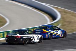#78 BimmerWorld Racing BMW M3 Coupe: Bob Michaelian, Ken Wilden, #19 Insight Racing BMW M3 Coupe: Paul Gerrard, Martin Jensen
