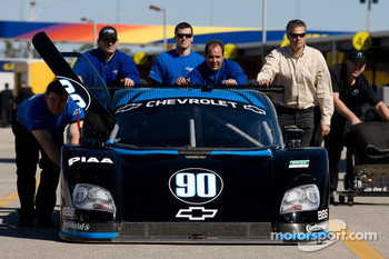 #90 Spirit of Daytona Racing Chevrolet Coyote