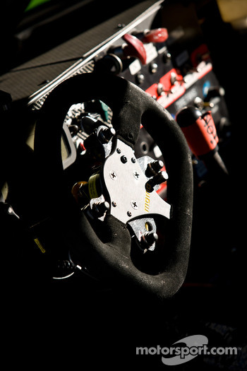 #7 Starworks Motorsport Ford Riley steering wheel